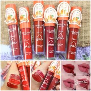 [1BUAH 1PCS] Revlon Velvet Peach Lipcream Kode 602 Lipcream Merah Lipcream Nude Lipcream Orange Grosir Kosmetik thumbnail