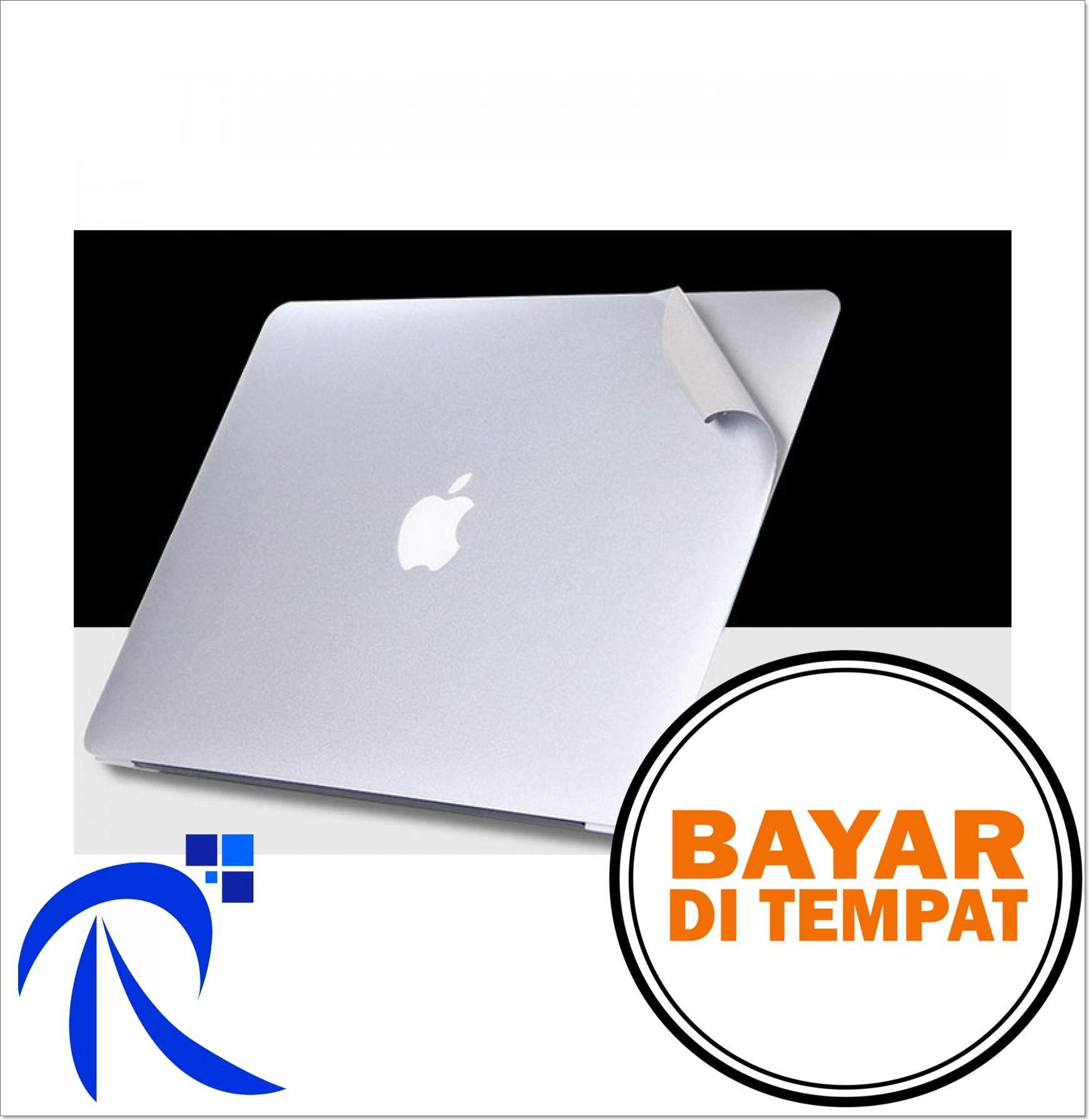 Rimas Cod Cover Protective Film Sticker For Macbook Pro 2016 15 Inch Touch Bar - Silver/perak - Stiker Protektif Pelindung Full Casing Case Laptop Mudah Praktis Simpel Berkualitas Menarik - Free Ongkir By Rimas Tech.