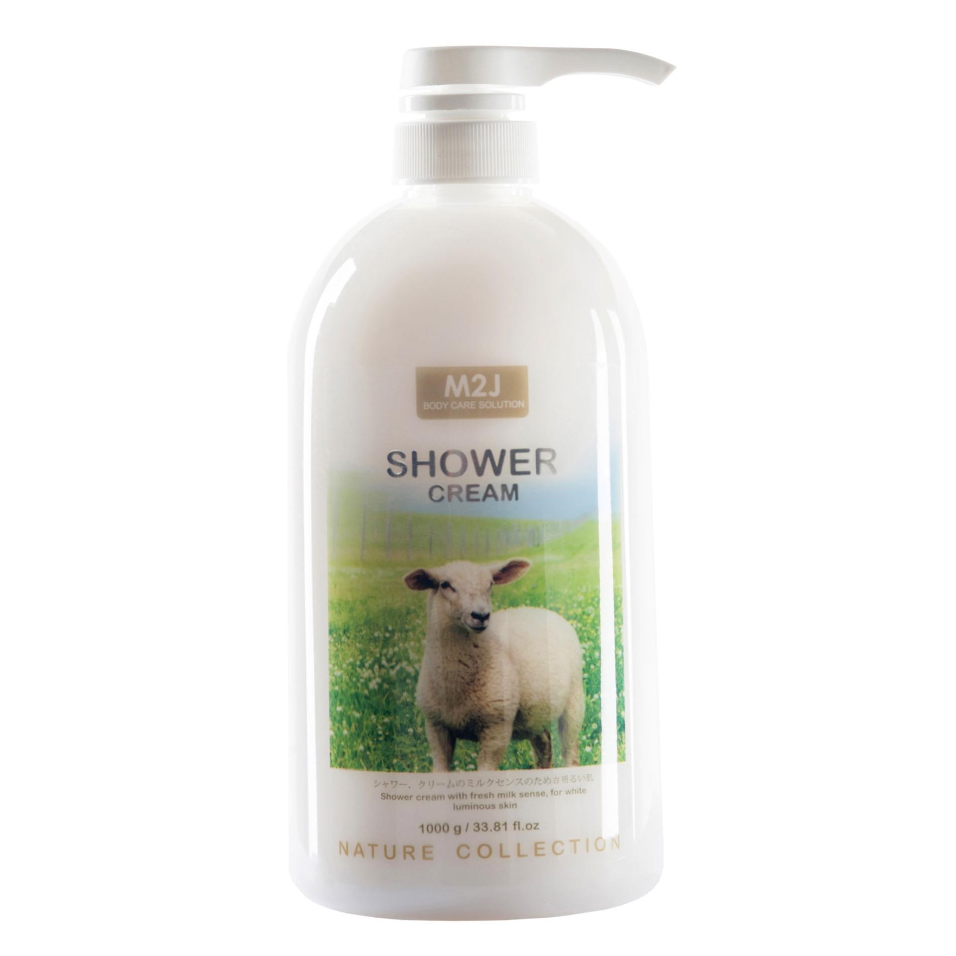 M2J Shower Cream - 1000 g