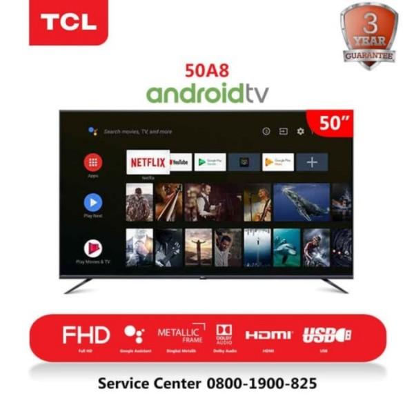 Ready  PROMO !!! LED ANDROID SMART TV TCL 50A8 --- GARANSI RESMI FREE BRACKET