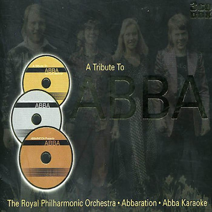 Cd Abba Tribute To-Royal Philharmonic Orchestra (instrumental) (3cd) By Womdisc.