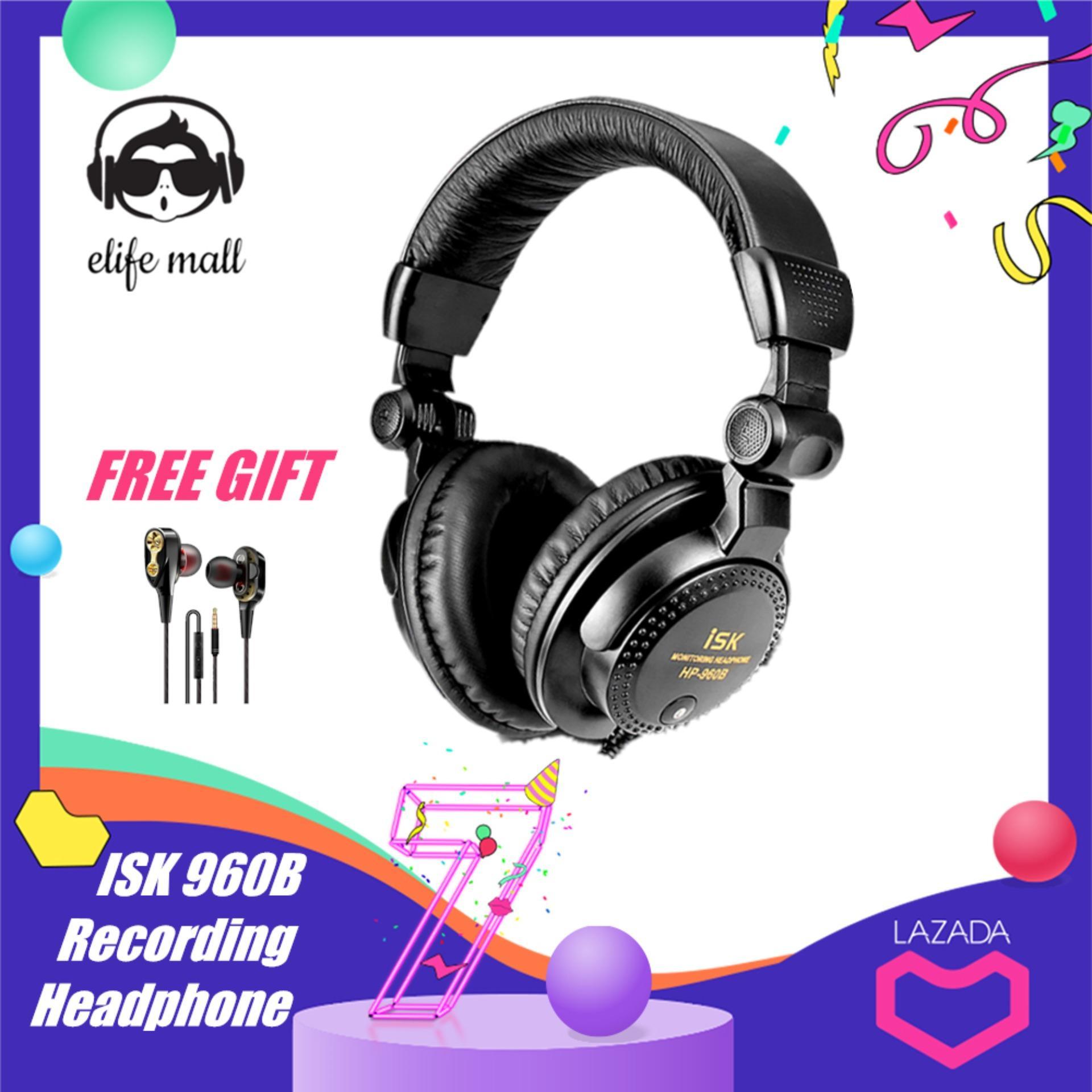 Rp 355.000. E-Hidup ISK 960B 3.5 Mm Plug Kabel Foldable Over-The-Ear Headset Stereo ...
