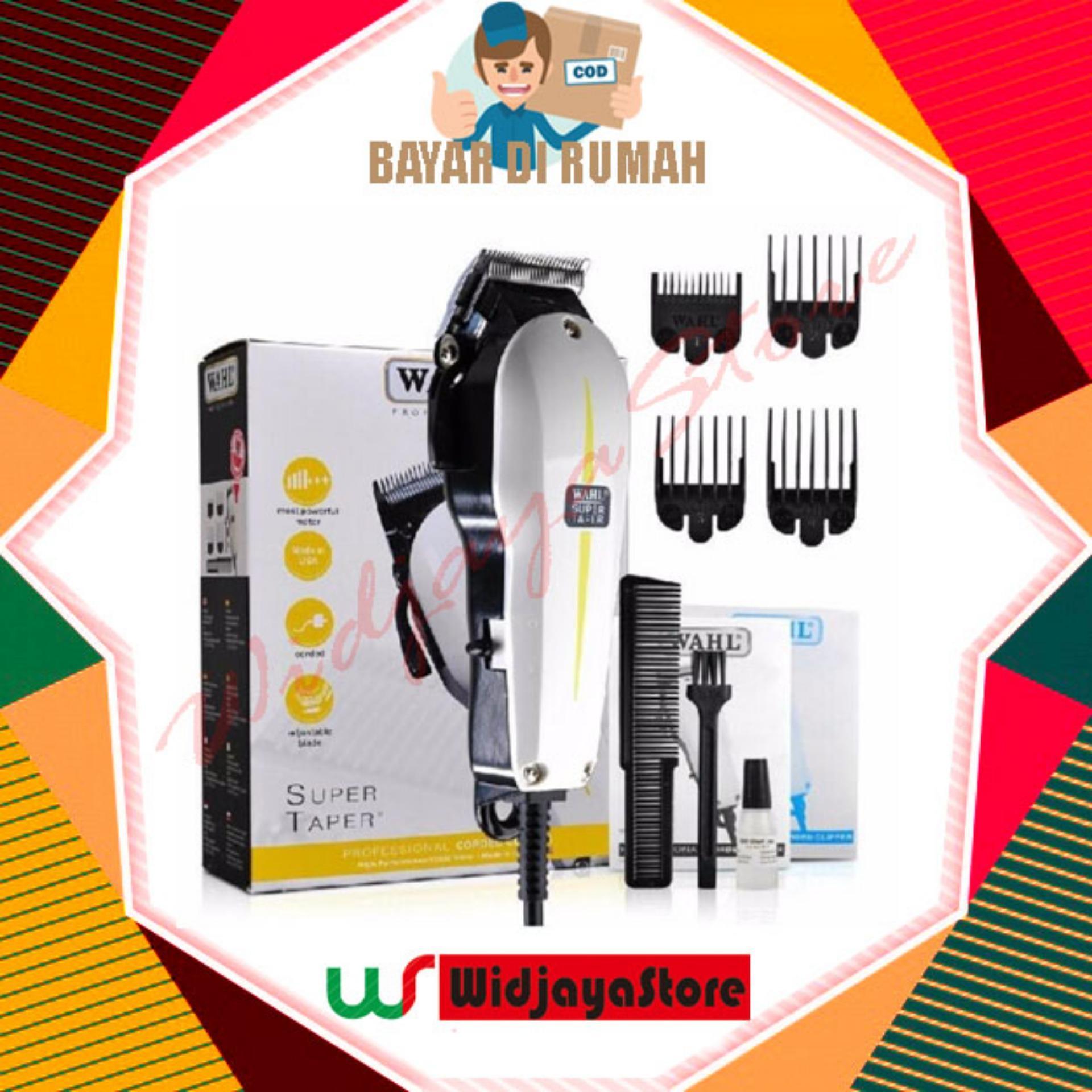 ALAT PANGKAS CUKUR RAMBUT PROFESSIONAL WAHL SUPER TAPER HAIR CLIPPER b9e8e018c0