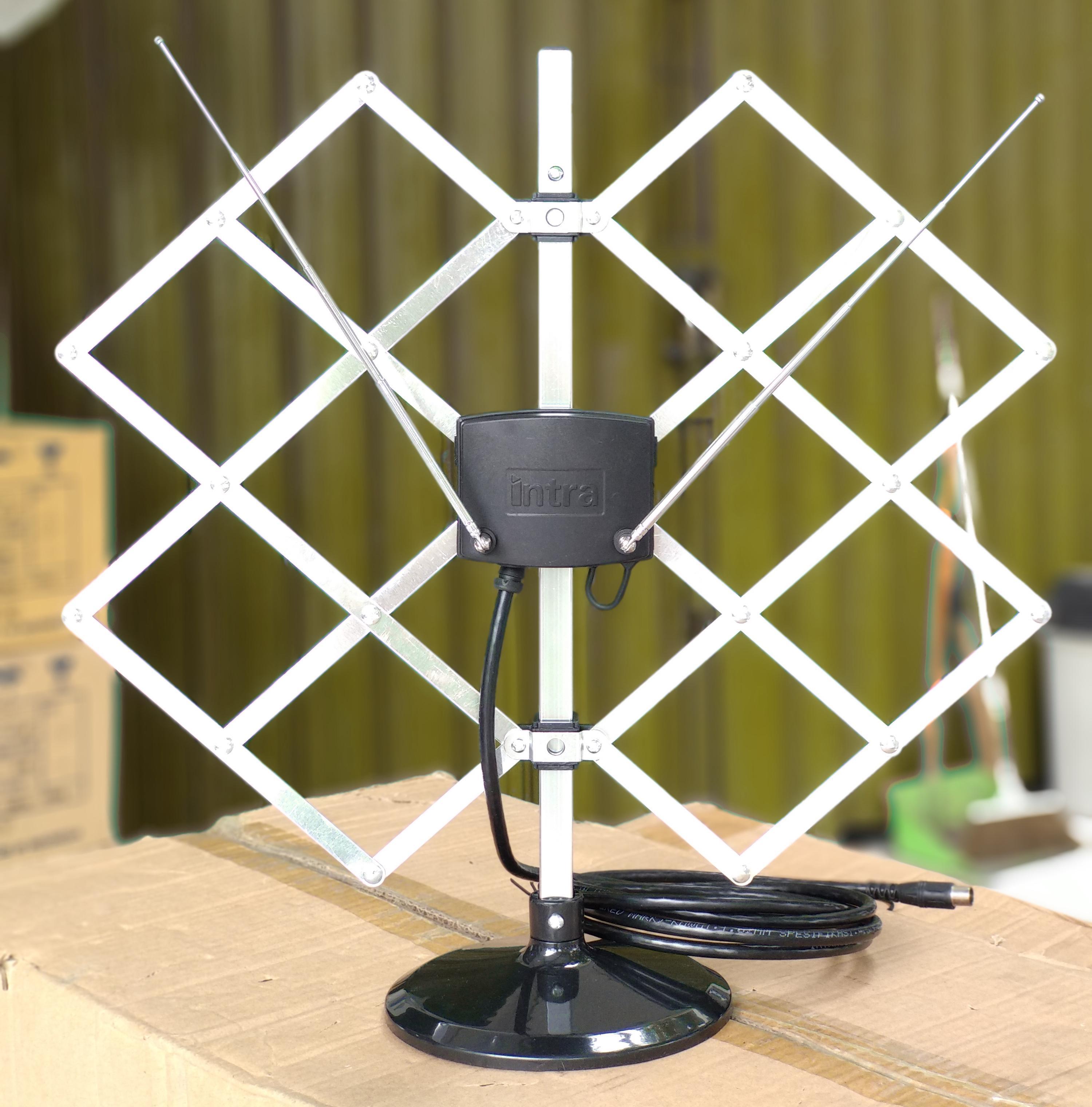 Antena Dalam Dan Luar Ruangan INTRA INT-D1 Analaog & Digital