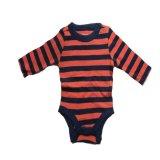 Spesifikasi Clafishope Rx1Bf08Obs Romper Bayi Laki Laki Stripe Orange Blue Bagus