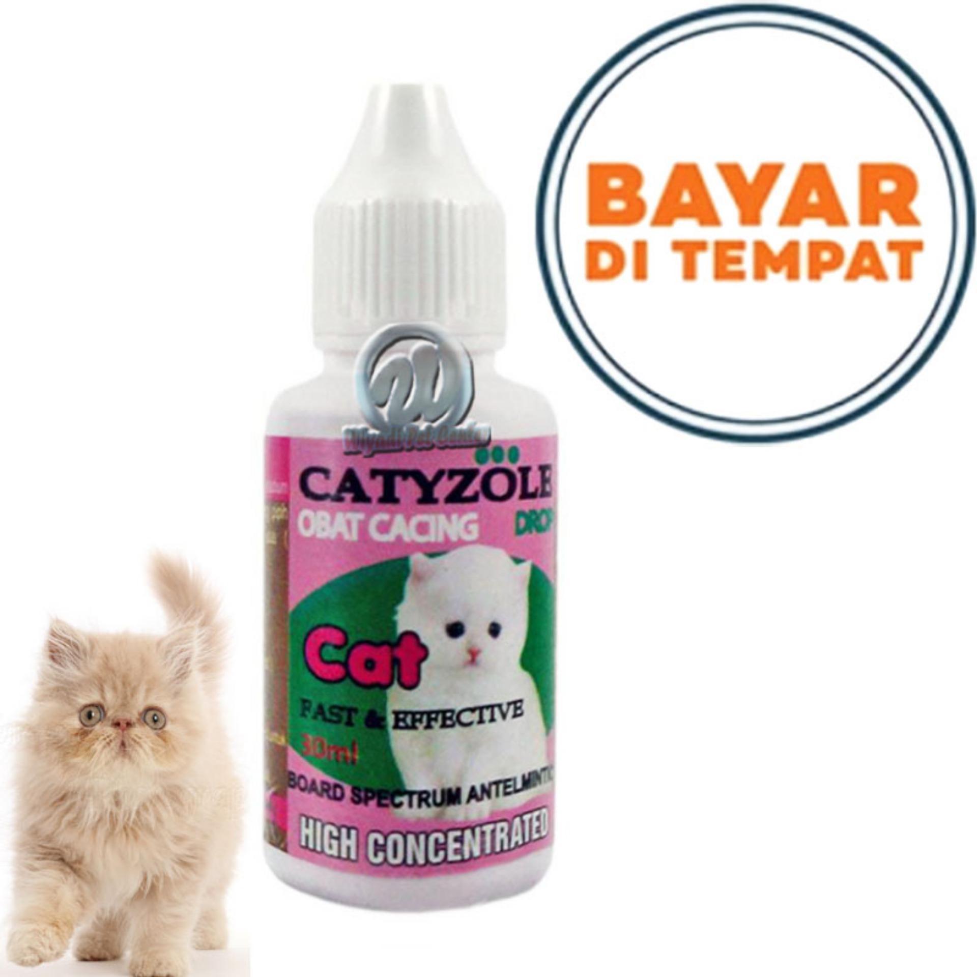 Obat Cacing Kucing Kitten Anak Kucing Catizole By Bang Gode-.
