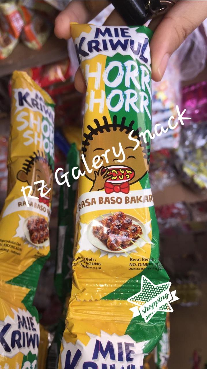 Mie Kriwul Shake Shorr 11 Sachet 12gr Jajanan Snack Harga Murah