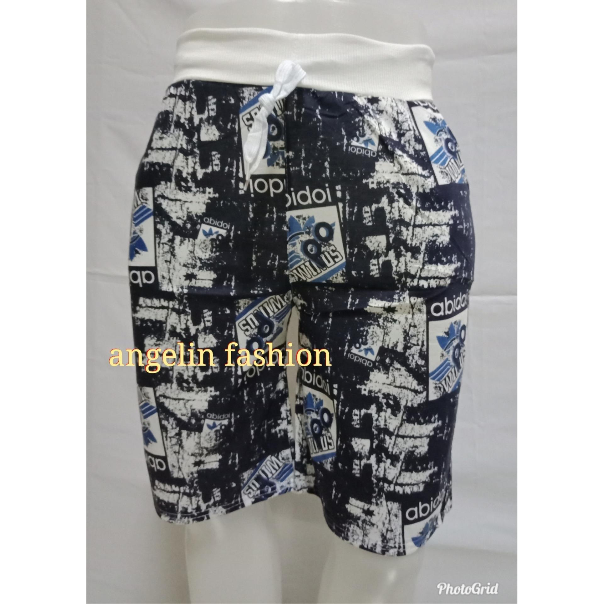 angelin_fashion/celana pendek pria/celana pendek santai pria/celana pendek gaul pria