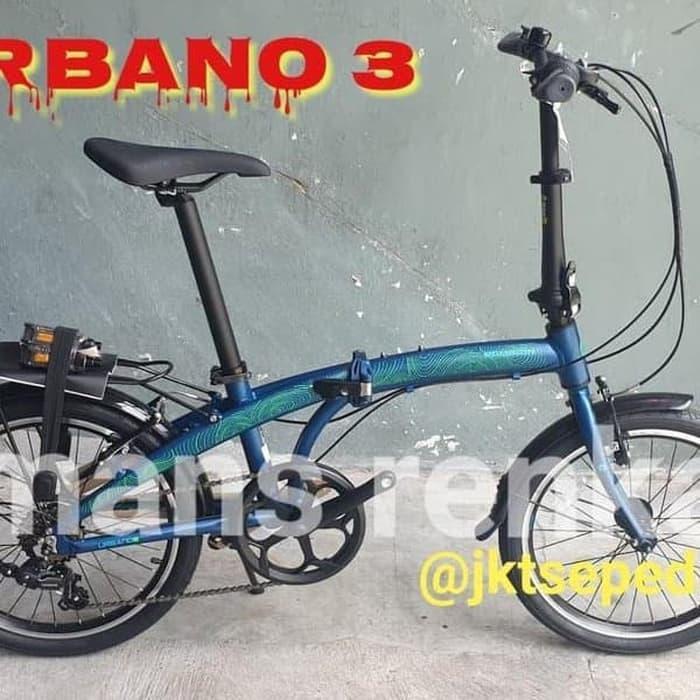 FORSALE Promo Sepeda Lipat Polygon Urbano 3