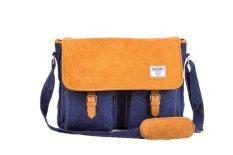 Jual Sam Decanth Sd007 Classic Indigo Postman Messenger Bag Grosir