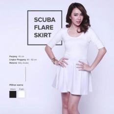 Promo Toko 369 Rok Scuba Mini Putih