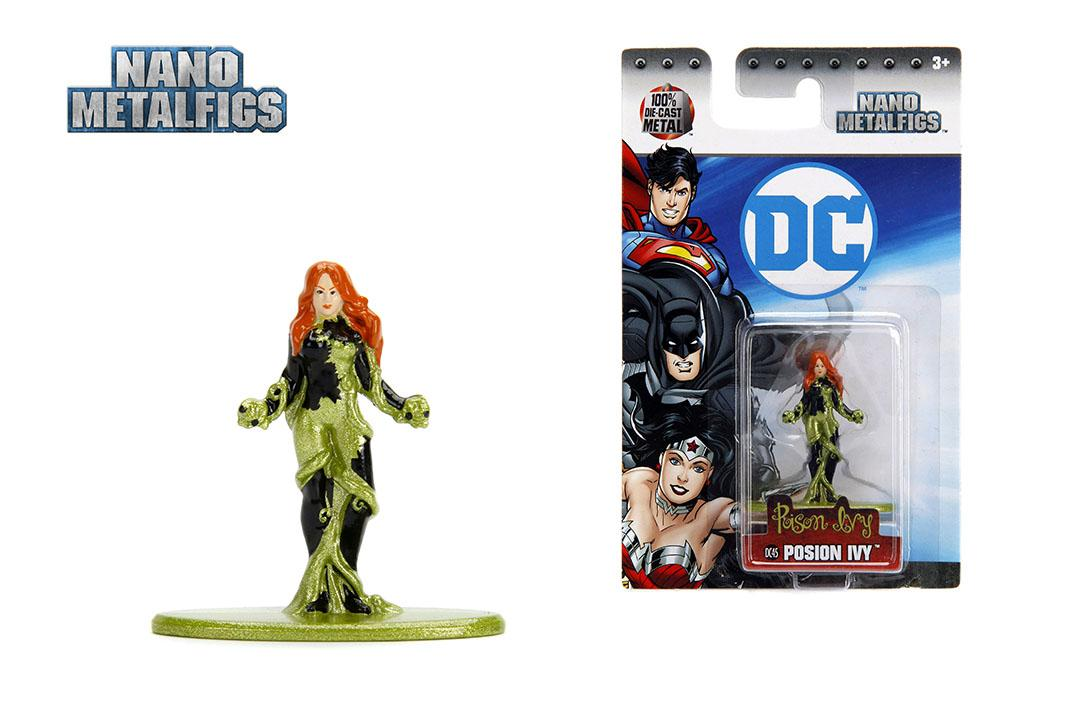 Jada Nano Metalfigs (3dc45) Dc Comics New 52 Poison Ivy Metal Figure By Anak Manja.