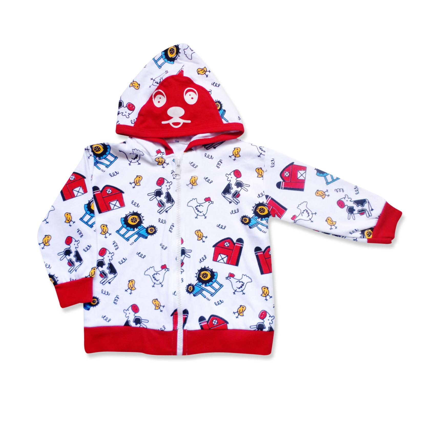 Skabe Baby Jaket Putih Anak Bayi Laki Laki 2849