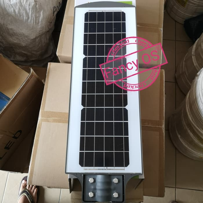 COD Lampu jalan PJU led solar cell 120w tenaga surya 120watt All in One (Kode 009))