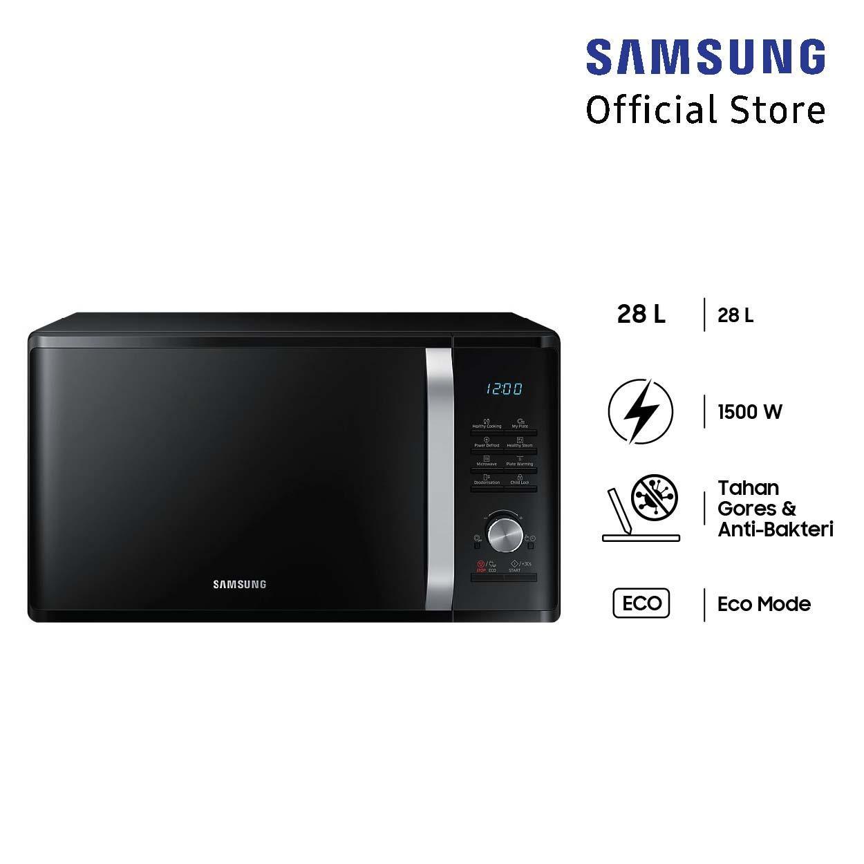 Samsung Microwave Solo, 28l - Ms28j5255ub By Lazada Retail Samsung.