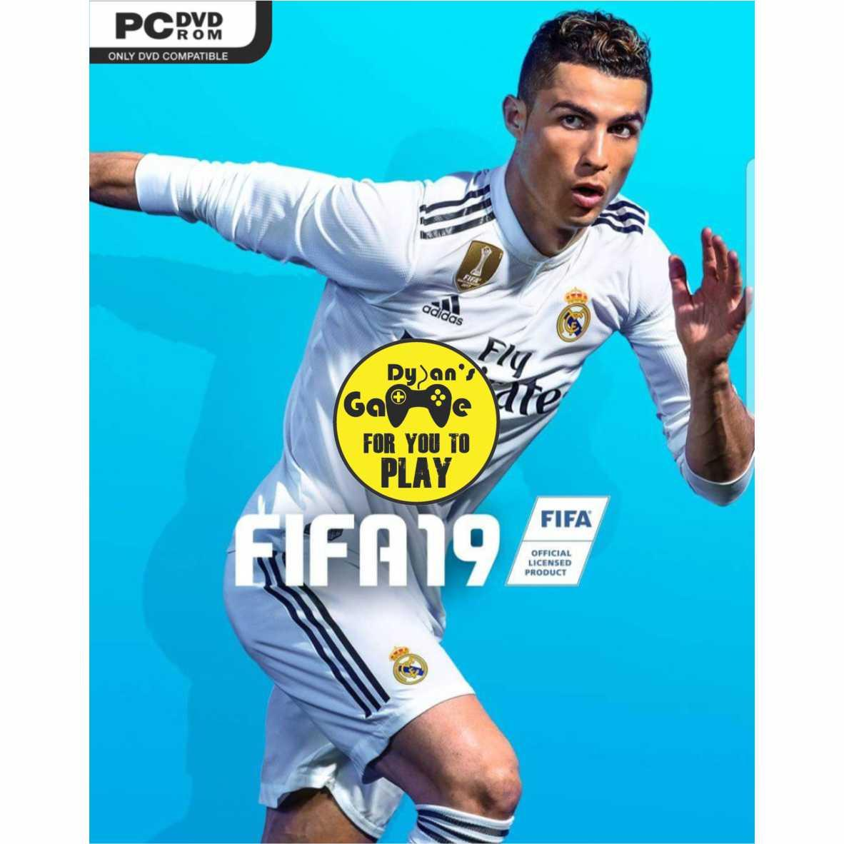 Fifa 19 Game Pc, Dvd Game Pc By Dylansgame.