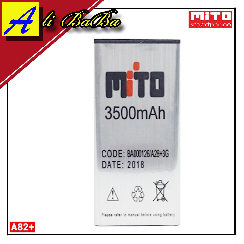 Baterai Handphone Mito A82 Plus BA00126 Double Power Mito A82 Plus Batre HP Mito A82 Plus