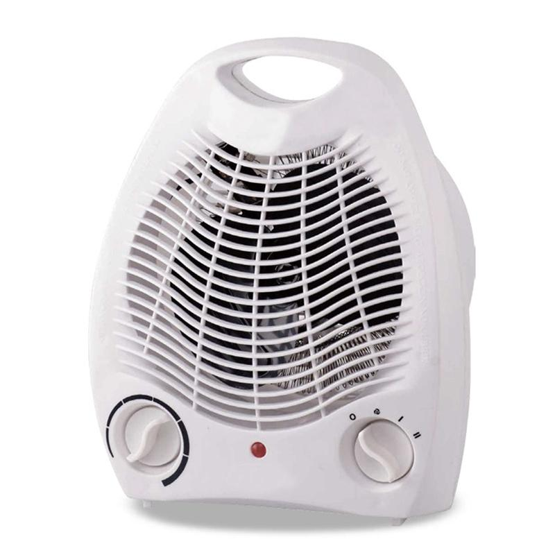 Giá Cực Sốc Khi Mua 2000W Electric Fan Room Heater 220V Portable Electric Space Heater Mini 3 Heating Settings Air Heating Space Winter Warmer Fan EU Plug