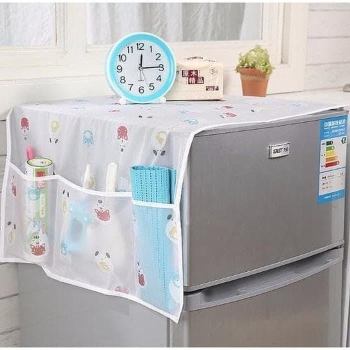 Taplak Penutup Kulkas Waterproof Cover refrigator Storage Pouch [100gr] A124