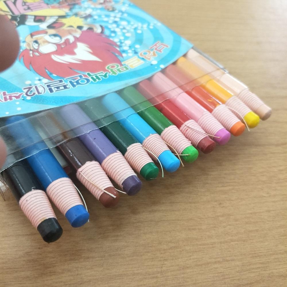 Crayon Pensil Warna Dermatograph 12 warna - Made in Korea