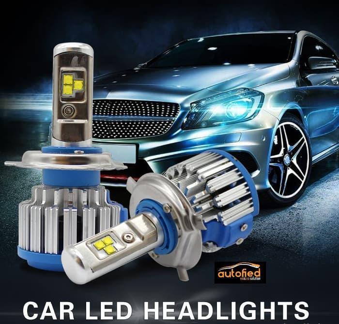 Best Buy Lampu LED Mobil T1 SUPER TURBO LED H4 Garansi 6 Bulan !!!