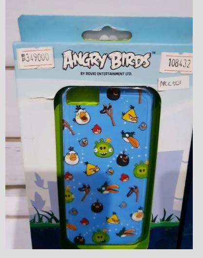 BACK CASE ANGRY BIRDS PREMIUM APPLE IPHONE 5 5S ORI IBOX CASING CUCI GUDANG RESMI