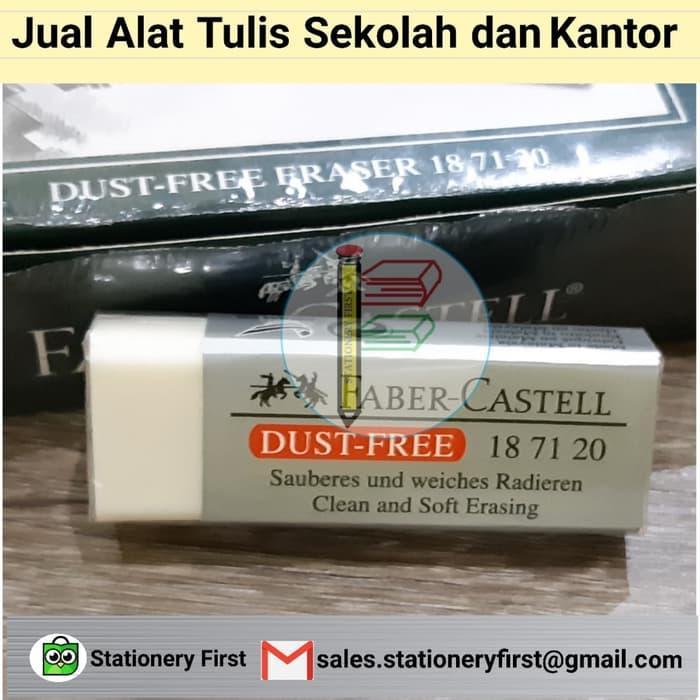 PROMO Eraser Penghapus Faber Castell 187120 (Putih Besar) - qXqzKxiB