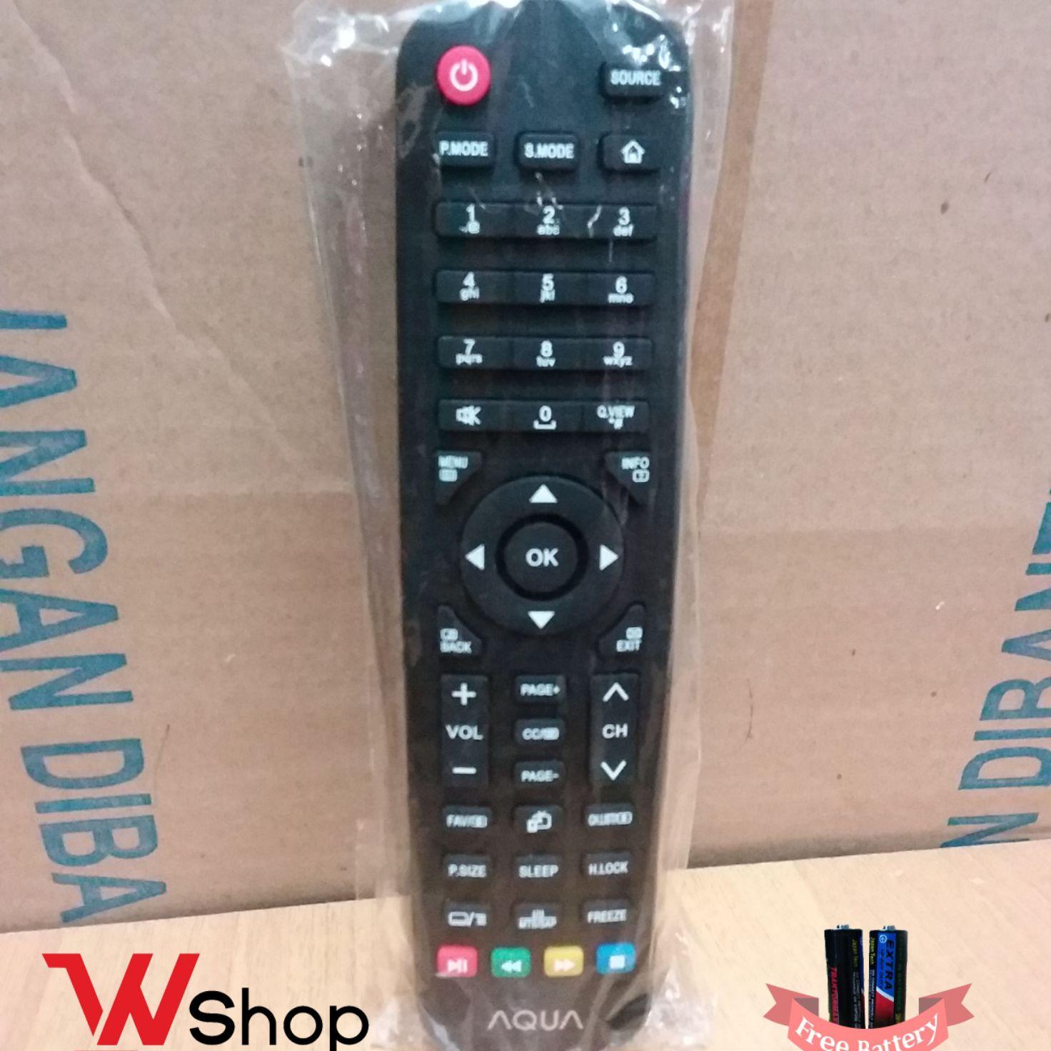 REMOTE/REMOT TV LCD LED AQUA  ORIGINAL