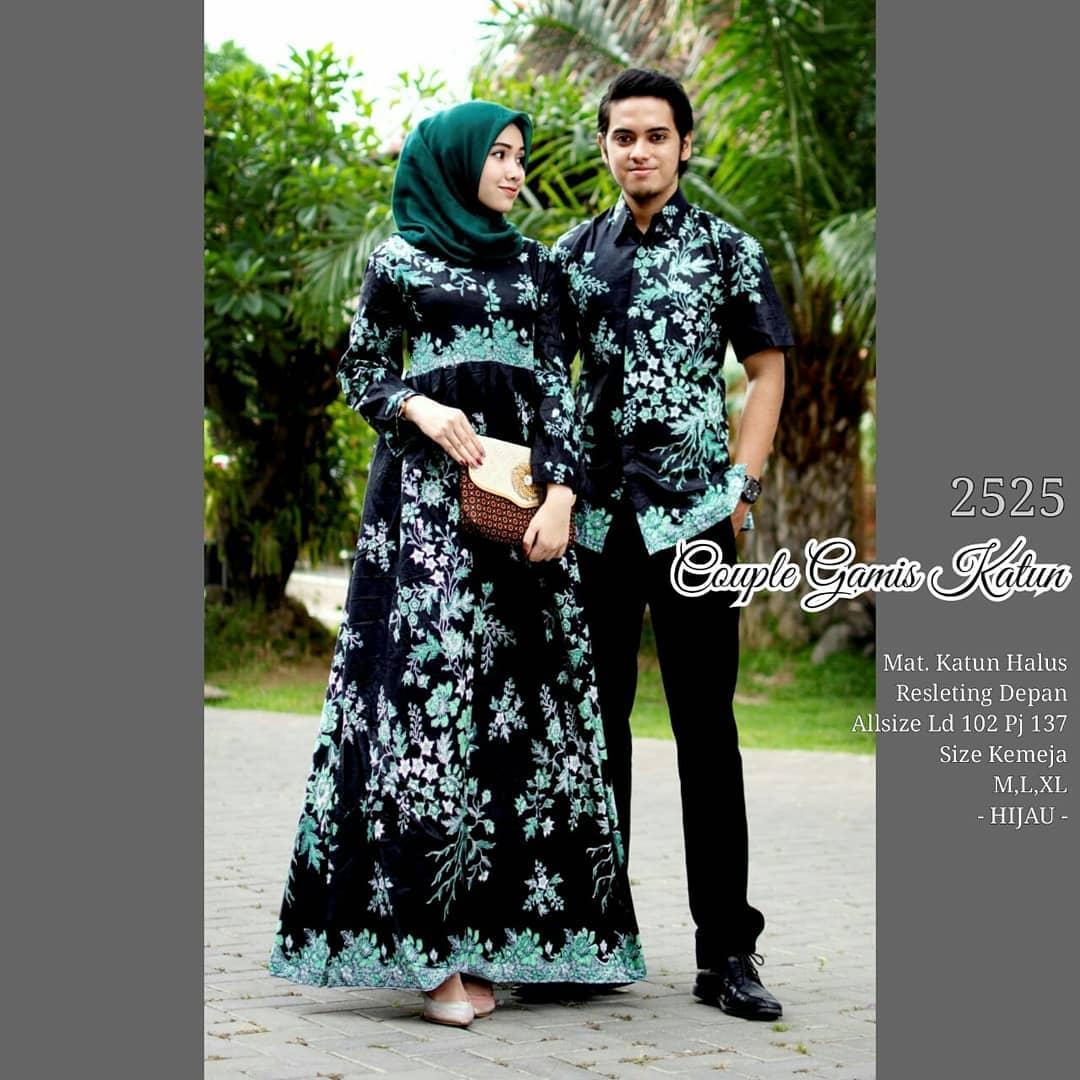 Termurah Batik Couple Baju Muslim Wanita Terbaru 2019 Couple Batik Baju Batik Sarimbit Baju Batik Modern Batik Kondangan Baju Batik