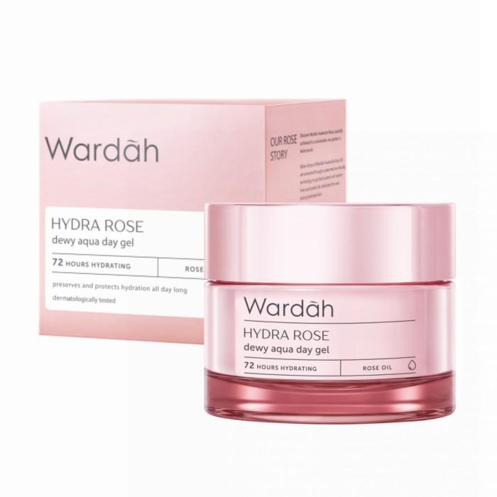 Wardah Hydra Rose Gel Rose Oil Cream 40 Gr Lazada Indonesia