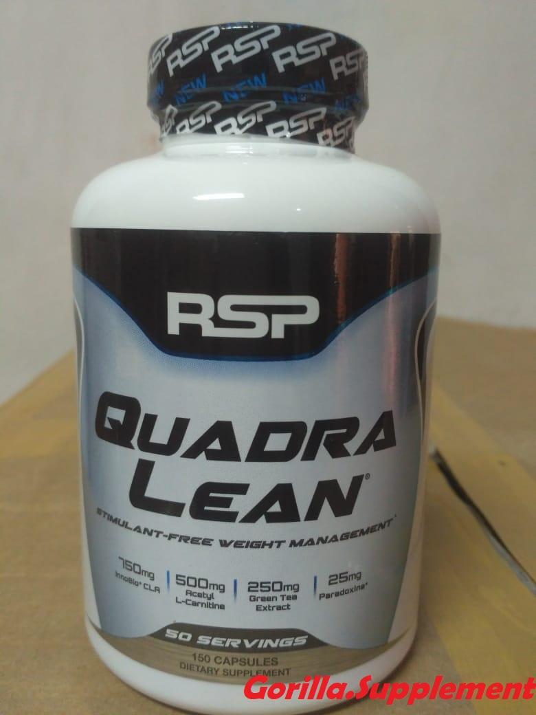 Rsp Quadralean Ecer Eceran 40 Kapsul Fatburner Quadra Lean By Gorilla.supplement.