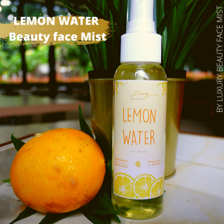 [PROMO] LEMON WATER FACE MIST ORGANIK 100% - Air Lemon Campuran Masker Setting Spray thumbnail