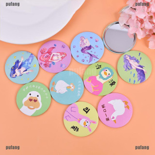 INDONESIA SATU JAKARTA - CERMIN MINI CUTE PORTABLE CERMIN TRAVELLING CARTOON COLORFUL ALT70 thumbnail