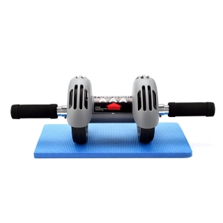 Abs Roller Round Belly Wheel Rebound Abdominal Muscle Wheel Fitness Press Roller Abs Trainer Sport At Home Gym thumbnail
