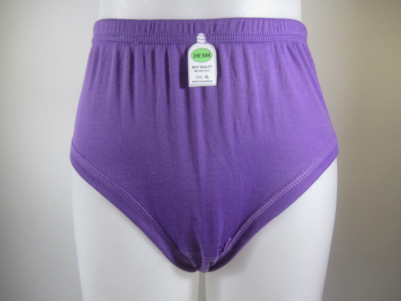 729e53361 Zhe - ban Pakaian Dalam Celana Dalam / CD Wanita Perempuan Maxi Bahan Katun  Adem Murah
