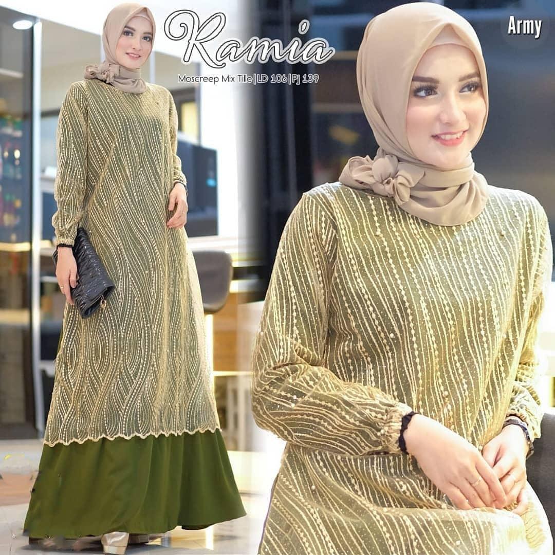 Baju Dress Brukat Kania Brukat Gamis Brokat Kondangan Gamis Terbaru 2020 Modern Gamis Terbaru 2020 Modern Kekinian Dress Brukat Kekinian Dress Brukat Hijab Lazada Indonesia