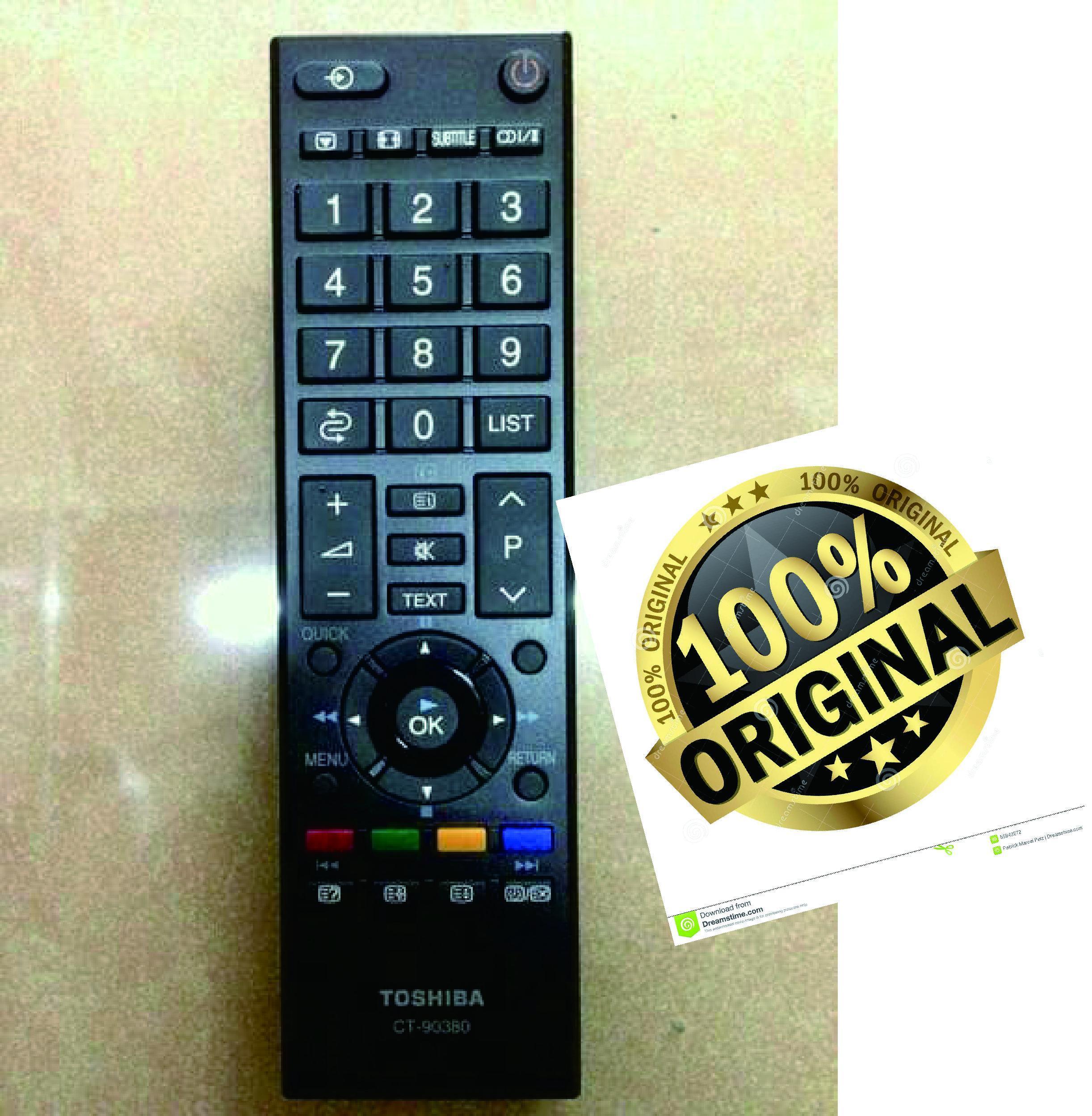 Remote TV Toshiba LED LCD Original 100%