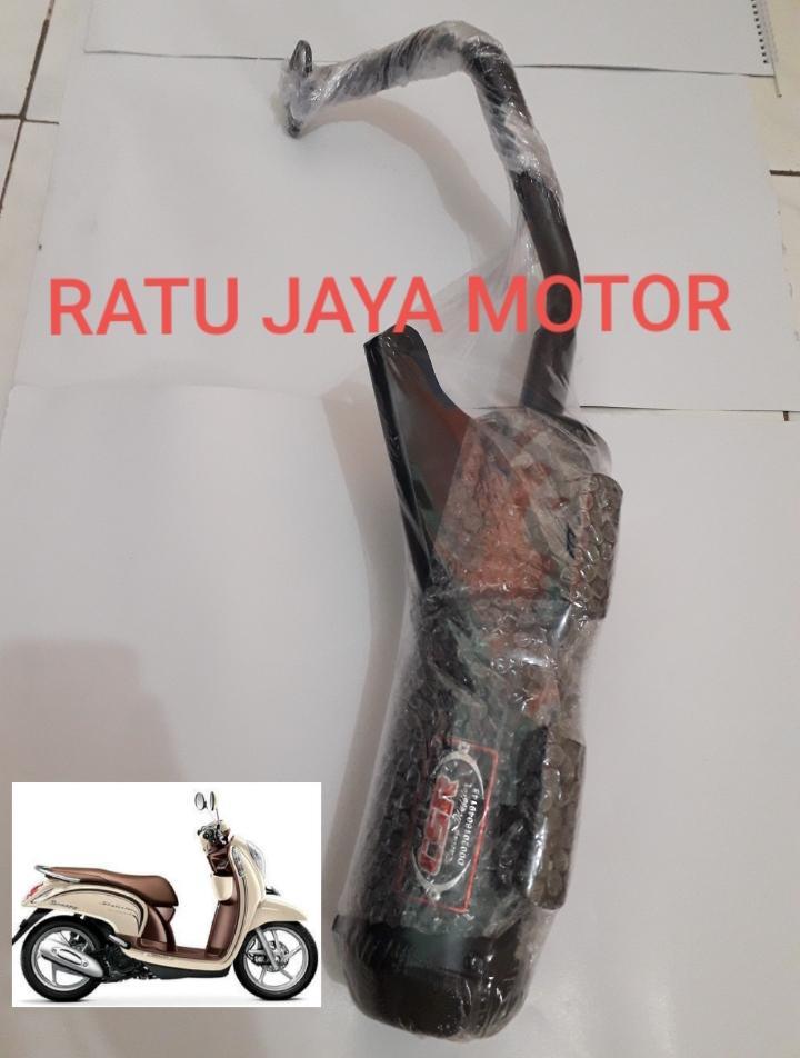 Knalpot Racing Bobokan Honda Scoopy By Rmyjayamotor.