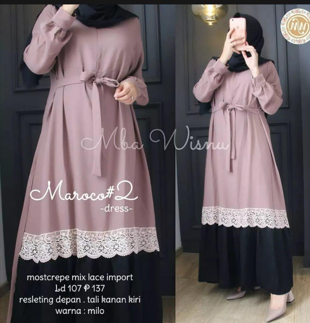 Gamis Maxi Maroco Premium / Size Super Jumbo L XL XXL 9XL 9XL / Dress  Wanita Terbaru 9 / Dess Wanita / Dres Wanita Muslim / Gamis Remaja  Modern /