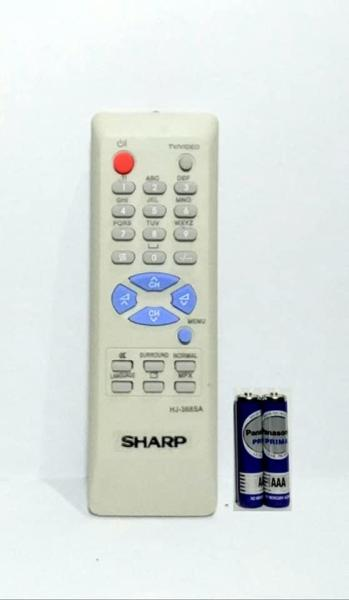 Sharp Remote TV Tabung - Free Batterai