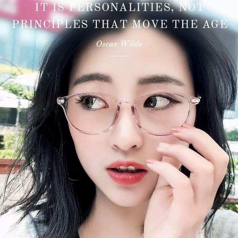 MAOBEAUTY Kacamata Gaya Keren Trendy Fashion Kacamata Pelindung Radiasi Kacamata Wanita Kacamata Pria