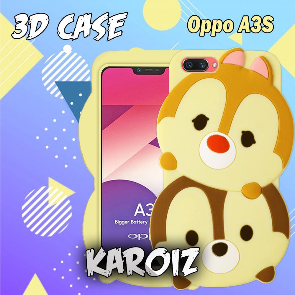 Rp 25.000. 3D Case Oppo A3S / Realme C1 Softcase 4D Karakter Boneka ...