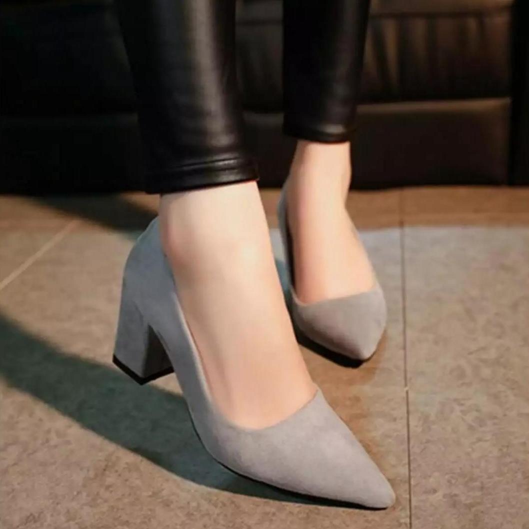 Arlaine Merlin Vantofel Chunky Heel By Arlaine Shop.