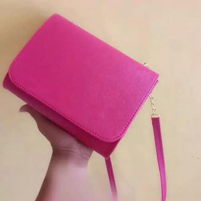 BIGBOS HM Tas Wanita Pesta Selempang Shoulder Bag - Tas slempang polos 0c64699256