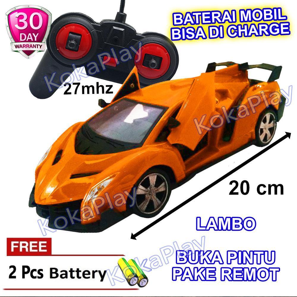 Kokaplay Rc Speed Rider Mobil Remot Rechargeable Sports Buka Pintu Remote Control Lampu Depan Mainan Anak Laki Laki Charge Mobil Balap Ferrari Lambo Bugatti Free 5 Baterai Lazada Indonesia