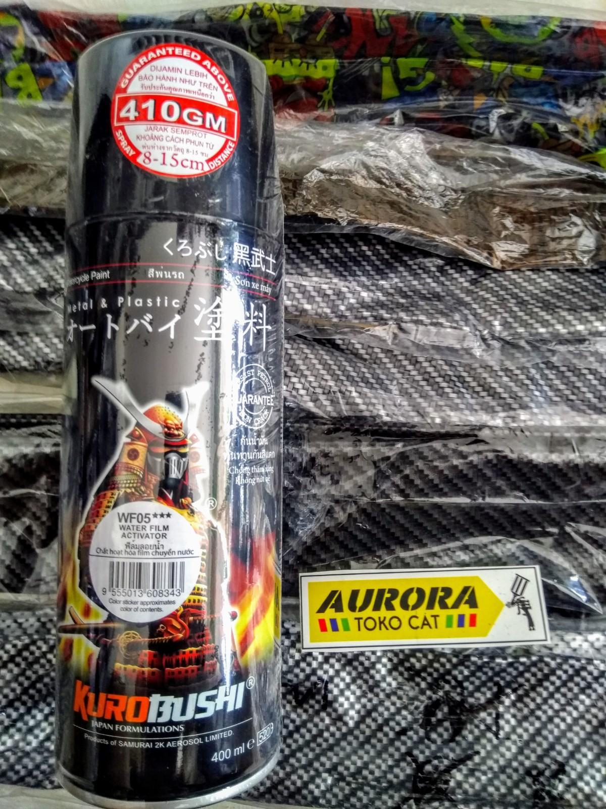 Paket Carbon Water Transfer Film Printing Dan Activator Samurai Paint By Raja Toserba 99.