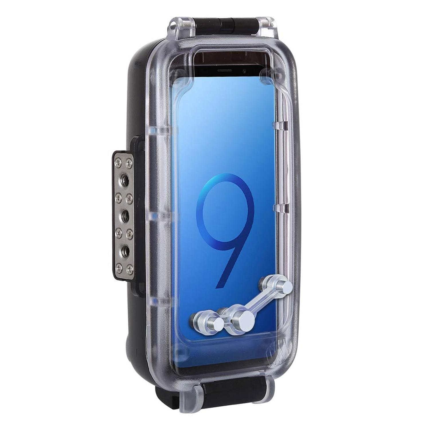 Puluz 40M / 130Ft Smartphone Waterproof Case For Samsung Galaxy S9 Deep Sea Diving Case Support Shockproof Snowproof Dirtproof Ip68 Protective Underwater Housing