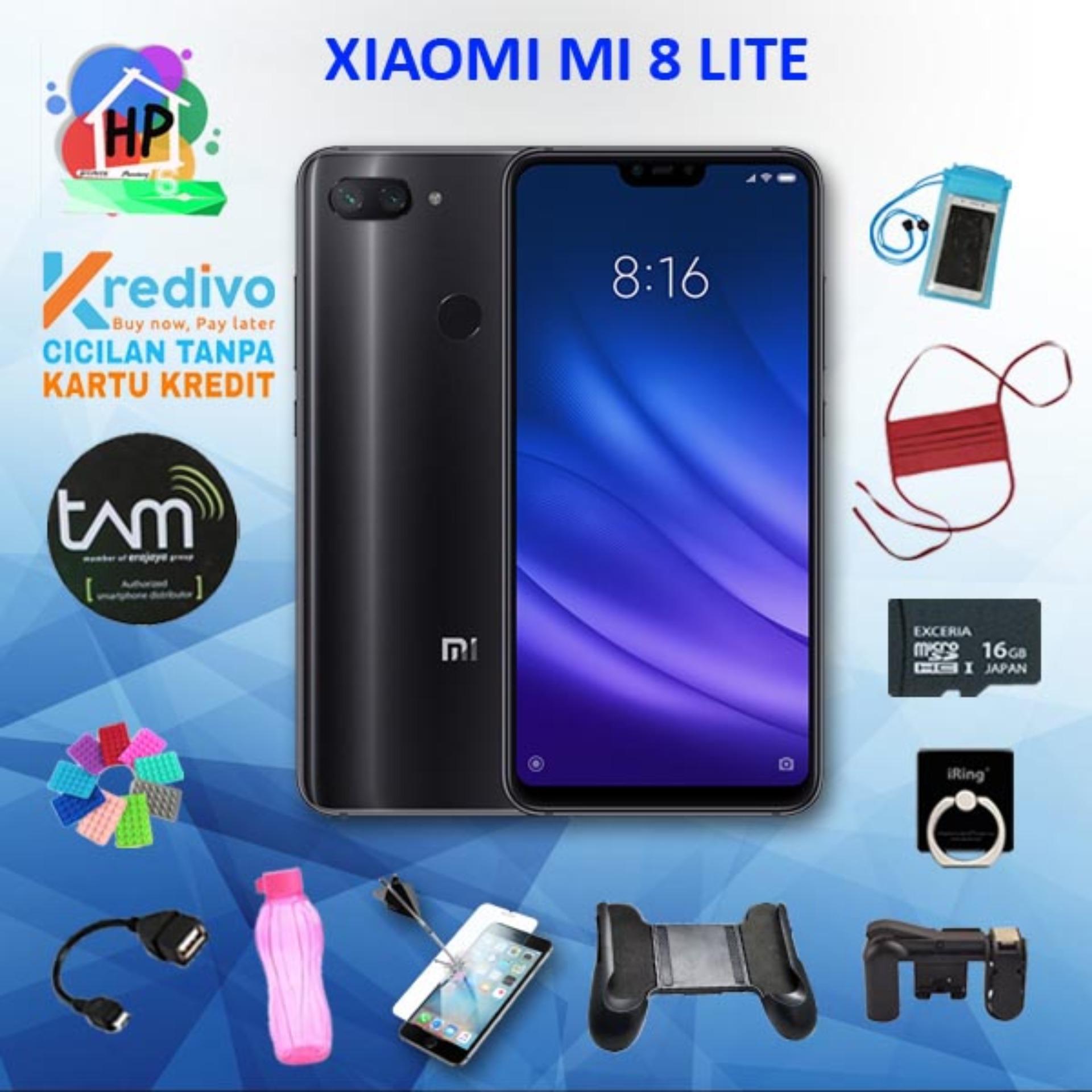 Xiaomi Mi 8 Lite Smartphone [64 GB/ 4GB / TAM] + Packet Masa Kini
