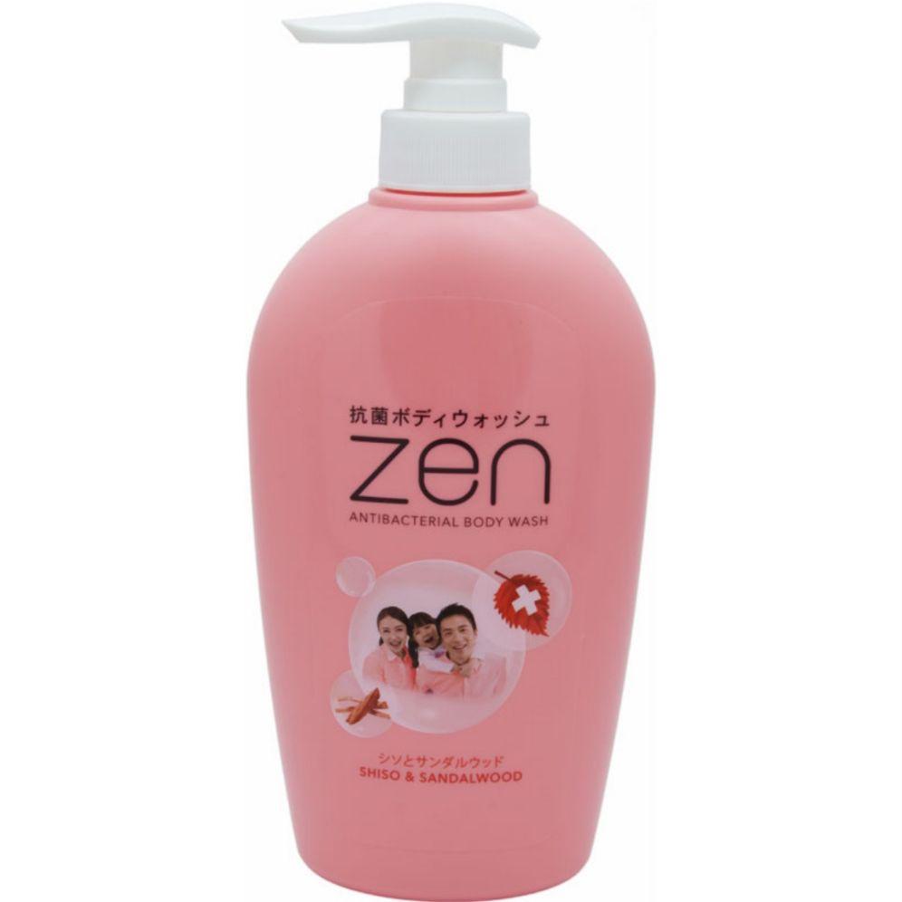 Zen Body wash shiso & sandalwood pump 450ml