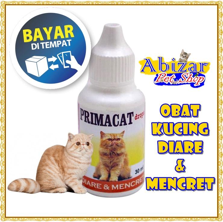 Obat Kucing Obat Anak Kucing Sakit Diare Mencret Berair Infeksi Saluran Pencernaan Primacat Kemasan Praktis 30ml Abizar Pet Shop Lazada Indonesia